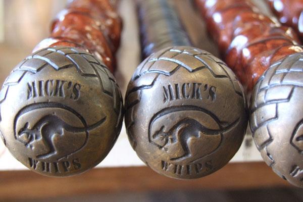 Micks Whips - Australian made stock whips
