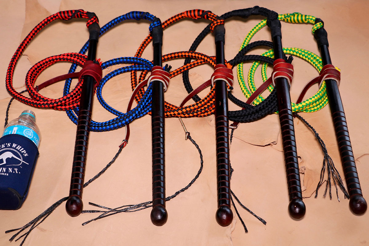 Micks Whips, Market Special Polycord Stock Whip