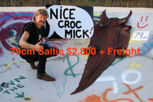 Mick's Whips, Crocodile Skin 79cm
