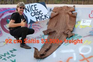 Mick's Whips, Crocodile Skin 92cm