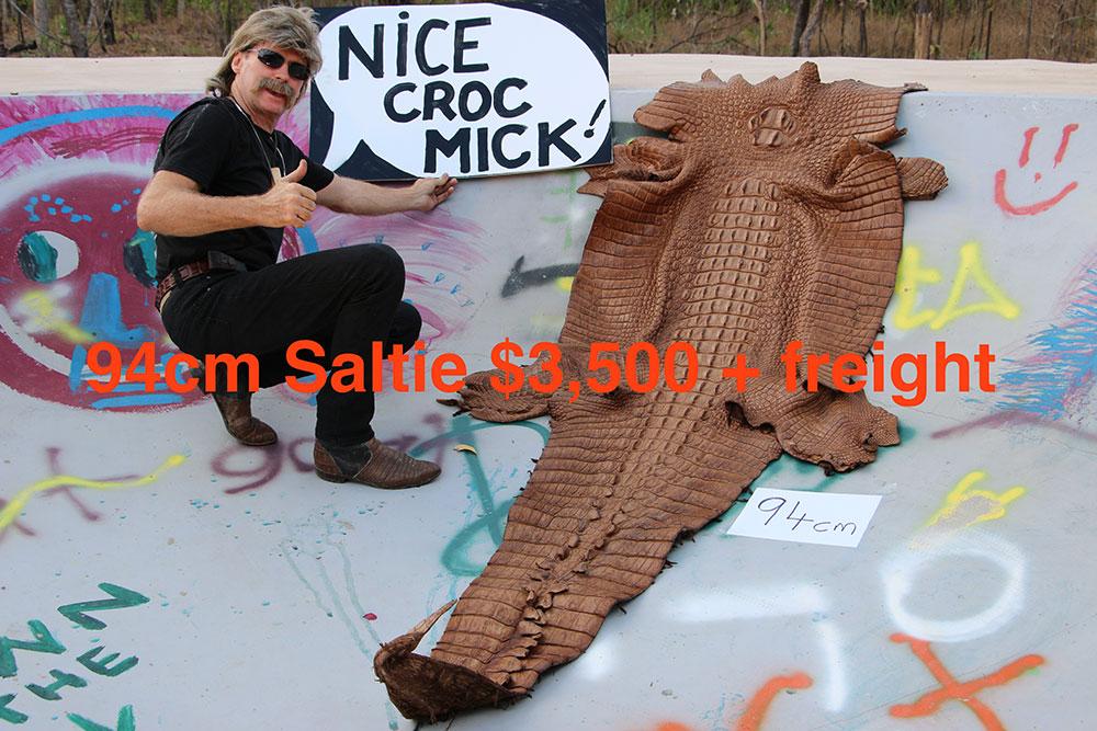 Mick's Whips, Crocodile Skin 94cm