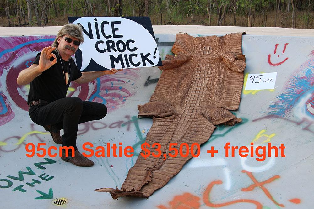 Mick's Whips, Crocodile Skin 95cm