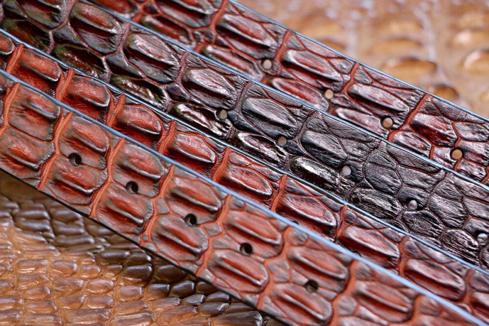 Mick's Whips, Crocodile Hornback Belt