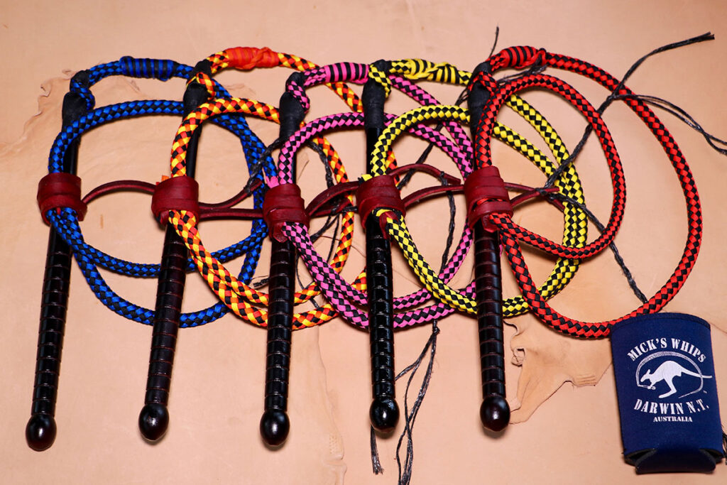 Mick's Whips, Coloured Polycord Mini Whip
