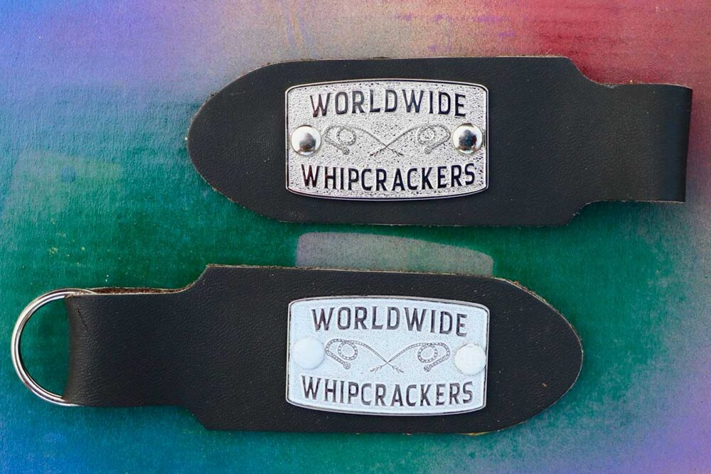 Mick's Whips, Whipcracker Club Badge